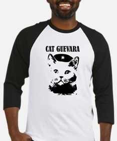 Cute and Funny Cat Guevara Baseball Jersey