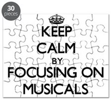 Keep Calm by focusing on Musicals Puzzle