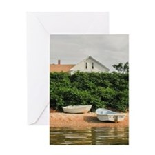 Block Island Rowboats Greeting Cards