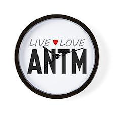Live Love ANTM Wall Clock