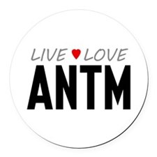 Live Love ANTM Round Car Magnet