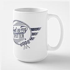 God is My Spotter Mugs