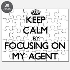 Keep Calm by focusing on My Agent Puzzle