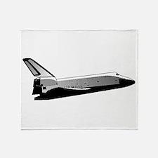 Space Shuttle Throw Blanket