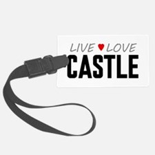 Live Love Castle Luggage Tag