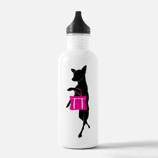 Cute Pocketbook Water Bottle