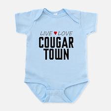 Live Love Cougar Town Infant Bodysuit
