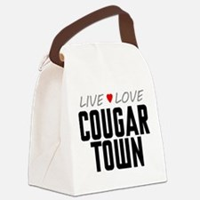 Live Love Cougar Town Canvas Lunch Bag