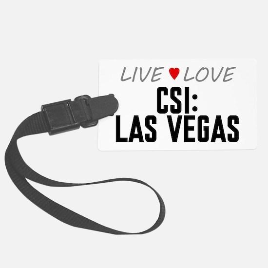 Live Love CSI: Las Vegas Luggage Tag