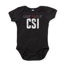 Live Love CSI Baby Bodysuit