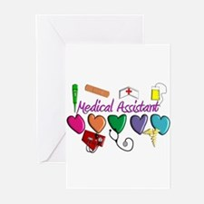 Unique Medical assistant Greeting Cards (Pk of 20)