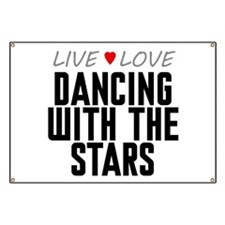 Live Love Dancing With the Stars Banner