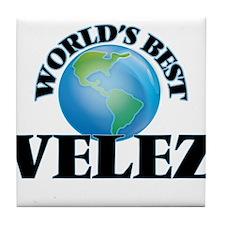 World's Best Velez Tile Coaster