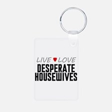 Live Love Desperate Housewives Aluminum Photo Keyc
