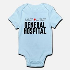 Live Love General Hospital Infant Bodysuit