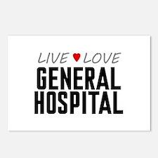 Live Love General Hospital Postcards (Package of 8