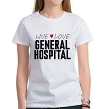 Live Love General Hospital Tee
