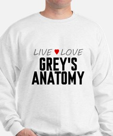 Live Love Grey's Anatomy Sweatshirt