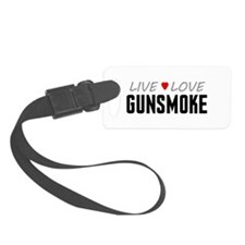 Live Love Gunsmoke Luggage Tag
