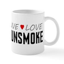 Live Love Gunsmoke Small Mug