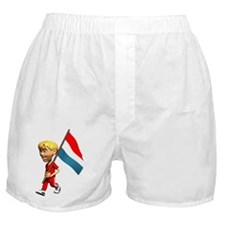 3D Luxembourg Boxer Shorts