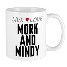 Live Love Mork and Mindy Mug