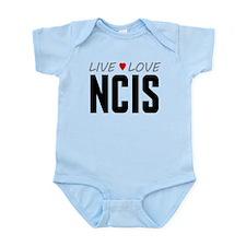 Live Love NCIS Infant Bodysuit