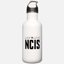 Live Love NCIS Water Bottle