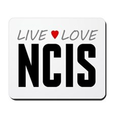 Live Love NCIS Mousepad