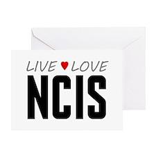 Live Love NCIS Greeting Card