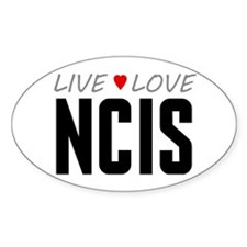 Live Love NCIS Oval Decal