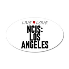Live Love NCIS: Los Angeles 22x14 Oval Wall Peel