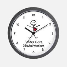 Foster Care SW SF Wall Clock