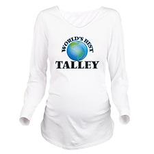 World's Best Talley Long Sleeve Maternity T-Shirt