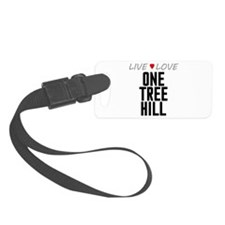 Live Love One Tree Hill Luggage Tag