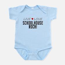 Live Love Schoolhouse Rock! Infant Bodysuit