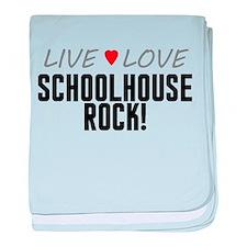 Live Love Schoolhouse Rock! Infant Blanket