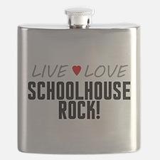 Live Love Schoolhouse Rock! Flask