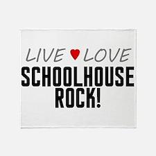 Live Love Schoolhouse Rock! Stadium Blanket