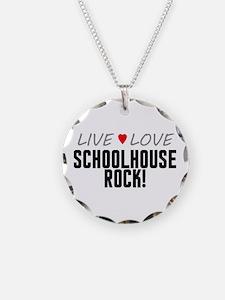 Live Love Schoolhouse Rock! Necklace