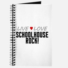 Live Love Schoolhouse Rock! Journal