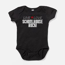 Live Love Schoolhouse Rock! Baby Bodysuit