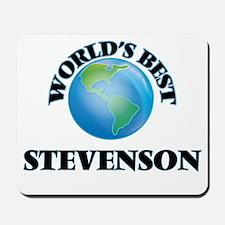 World's Best Stevenson Mousepad