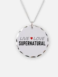 Live Love Supernatural Necklace