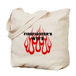 Firefighters Wife Tote Bag