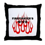 Firefighters Wife Throw Pillow