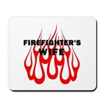 Firefighters Wife Mousepad