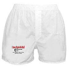 I LOVE ROCK-N-ROLL Boxer Shorts