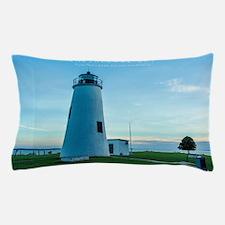 Turkey Point Light Maryland. Pillow Case