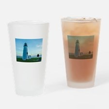 Turkey Point Light Maryland. Drinking Glass